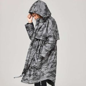 Camo Jacquard Luxe Parka by Ivy Park